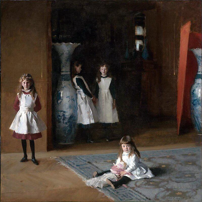 2_John Singer Sargent, The Daughters of Edward Darley Boit, 1882