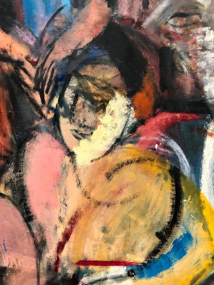 5_Grace Harigan, Masquerade (detail), 1954