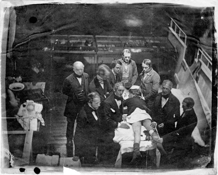סאותוורת והואז הניתוח הראשון בהרדמה מלאה