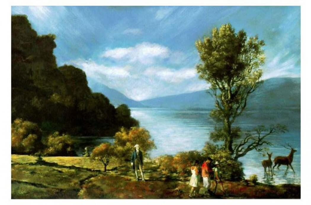 קומאר ומלמד הציור הכי אהוב באמריקה