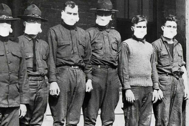 Spanish Flu Soldiers 1200