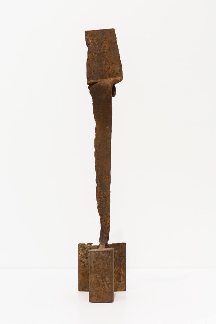 יעקב דורצין, ללא כותרת, ברזל