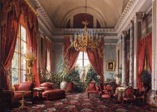 לואיגי פרמאצי, הסלון האדום הקטן, 1855