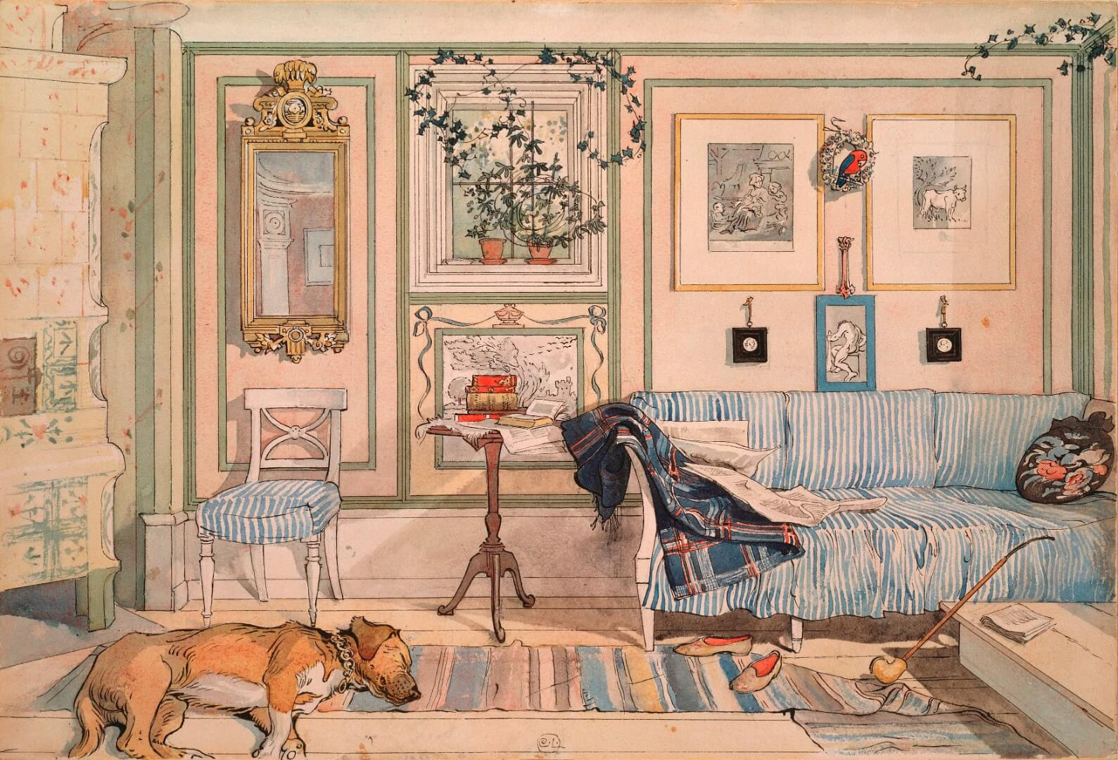 cosy-corner-1894( larsson