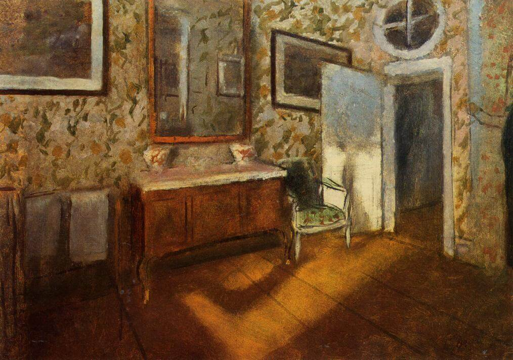 interior-at-menil-hubert-1892 - degas