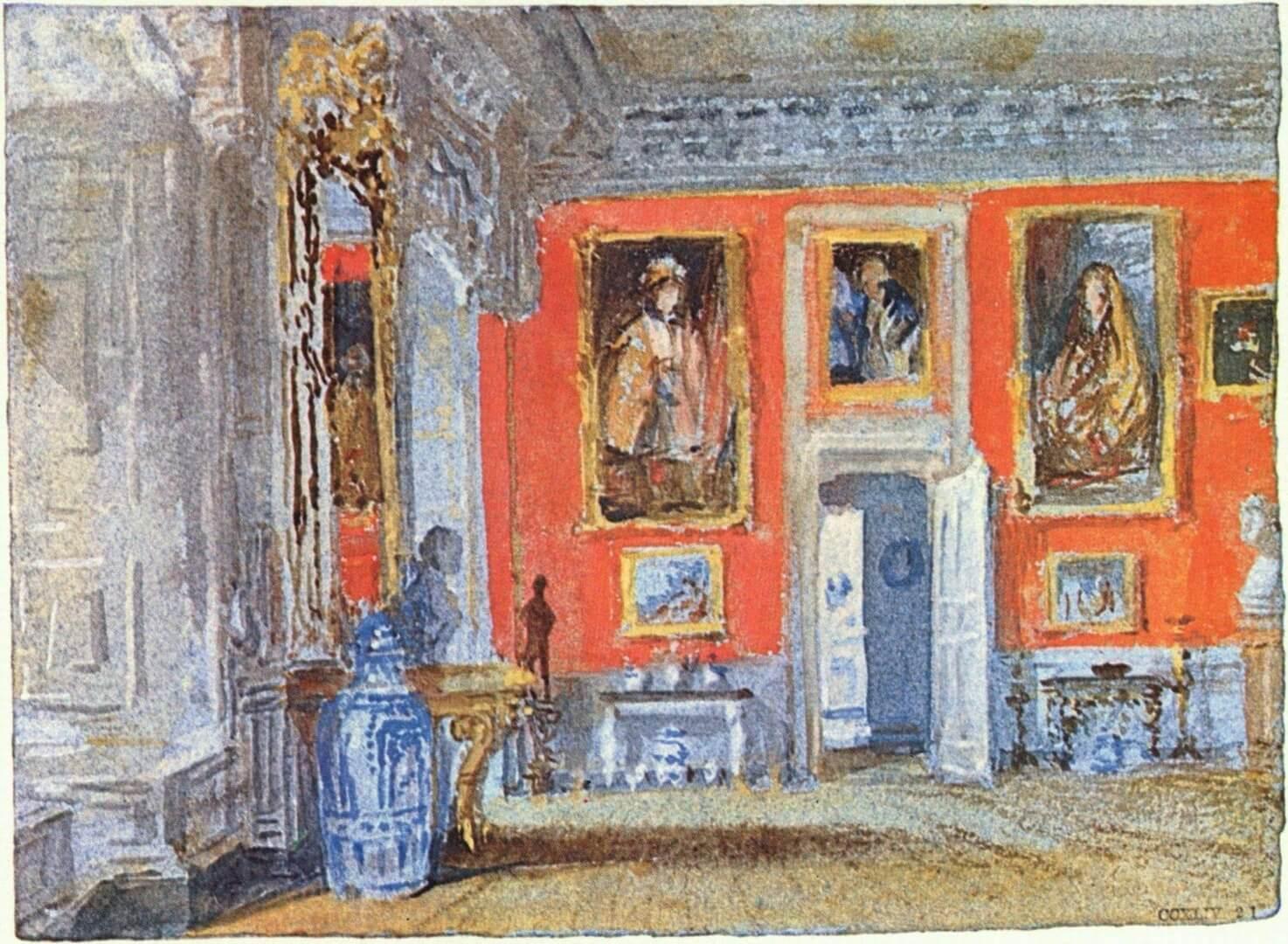 טרנר, החדר האדום בפטוות, 1827
